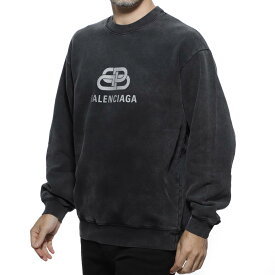 バレンシアガ BALENCIAGA スウェット トレーナー グレー メンズ カジュアル トップス 570807 tgv74 1140 BB【あす楽対応_関東】【返品送料無料】【ラッピング無料】