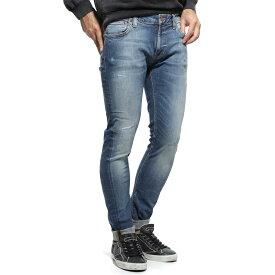 ヌーディージーンズ nudie jeans co ストレッチジーンズ ブルー メンズ デニム オーガニックコットン skinny lin 113113 SKINNY LIN レングス32【あす楽対応_関東】【返品送料無料】【ラッピング無料】