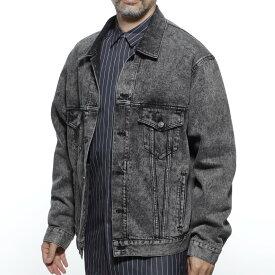 バレンシアガ BALENCIAGA デニムジャケット Gジャン ブラック メンズ アウター 594425 tgw01 9034【あす楽対応_関東】【返品送料無料】【ラッピング無料】