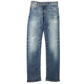 ヌーディージーンズ nudie jeans co ストレッチジーンズ ブルー メンズ デニム オーガニックコットン thin finn 113127 THIN FINN レングス32【あす楽対応_関東】【返品送料無料】【ラッピング無料】