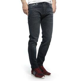 ヌーディージーンズ nudie jeans co ストレッチジーンズ ブラック メンズ デニム オーガニックコットン thin finn 113171 THIN FINN レングス32【あす楽対応_関東】【返品送料無料】【ラッピング無料】