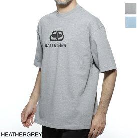 【アウトレット】バレンシアガ BALENCIAGA クルーネック Tシャツ メンズ デザイン カットソー カジュアル 578139 tgv75 1300 BB LOGO T-SHIRT【あす楽対応_関東】【返品送料無料】【ラッピング無料】