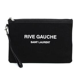 【アウトレット】サンローランパリ SAINT LAURENT PARIS ポーチ ブラック メンズ ケース 581369 hzp6d 1070 POUCH RIVE GAUCHE【あす楽対応_関東】【返品送料無料】【ラッピング無料】