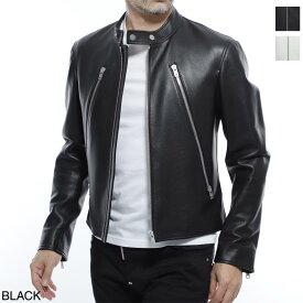 【アウトレット】メゾンマルジェラ Maison Margiela ライダースジャケット メンズ レザー 定番 s50am0466 sy1459 900 14 男性のためのワードローブ【あす楽対応_関東】【返品送料無料】【ラッピング無料】