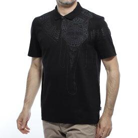 【アウトレット】ボスヒューゴボス BOSS HUGOBOSS ポロシャツ ブラック メンズ 半袖 コラボ マイセン prout 50420610 001 BOSS×MEISSEN PROUT【あす楽対応_関東】【返品送料無料】【ラッピング無料】[outnew]