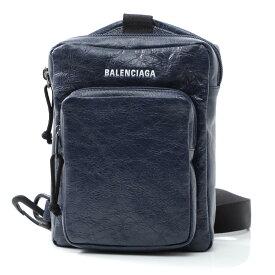 バレンシアガ BALENCIAGA クロスボディバッグ ブルー メンズ 593651 db5j5 4611 EXPLORER エクスプローラー ARENA【あす楽対応_関東】【返品送料無料】【ラッピング無料】