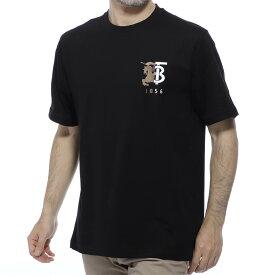 バーバリー BURBERRY クルーネック Tシャツ ブラック メンズ カジュアル トップス インナー スポーツ 半袖 8023785 black HESFORD ヘスフォード【あす楽対応_関東】【返品送料無料】【ラッピング無料】