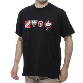 バーバリー BURBERRY クルーネック Tシャツ ブラック メンズ カジュアル トップス インナー スポーツ 半袖 8024318 black LITFORD リットフォード【あす楽対応_関東】【返品送料無料】【ラッピング無料】