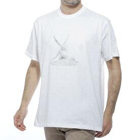 【アウトレット】バーバリー BURBERRY クルーネック Tシャツ ホワイト メンズ カジュアル トップス インナー スポーツ 半袖 8024365 white WALLACE ウォレス【あす楽対応_関東】【返品送料無料】【ラッピング無料】