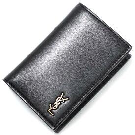 サンローランパリ SAINT LAURENT PARIS 2つ折り財布 ブラック メンズ 607679 02g0w 1000 CREDIT CARD WALLET【あす楽対応_関東】【返品送料無料】【ラッピング無料】