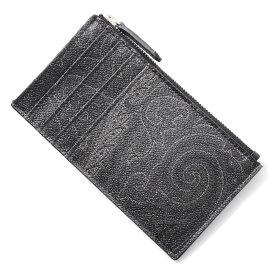 【アウトレット】エトロ ETRO カードケース ブラック メンズ ウォレット 財布 ギフト プレゼント 0i451 8007 1【あす楽対応_関東】【返品送料無料】【ラッピング無料】
