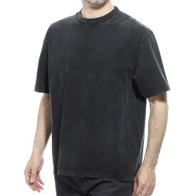 【3万円均一】【アウトレット】バレンシアガ BALENCIAGA クルーネック 半袖Tシャツ ブラック メンズ インナー 594579 thv85 1140【あす楽対応_関東】【返品送料無料】【ラッピング無料】