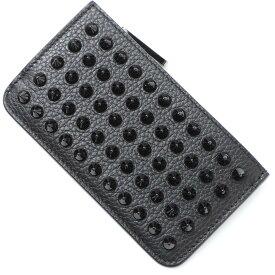 クリスチャンルブタン Christian Louboutin カードケース ブラック メンズ 1205017 cm53 black CREDILOU NV【あす楽対応_関東】【返品送料無料】【ラッピング無料】
