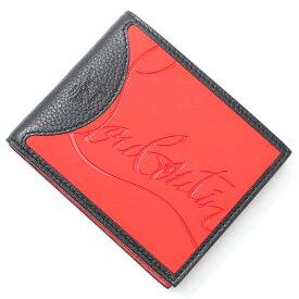 クリスチャンルブタン Christian Louboutin 2つ折り 財布 レッド メンズ 3195052 h734 loubi black COOLCARD WALLET【あす楽対応_関東】【返品送料無料】【ラッピング無料】