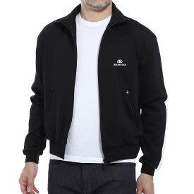 【アウトレット】バレンシアガ BALENCIAGA トラックジャケット ジャージ ブラック メンズ 大きいサイズあり 601727 tgv04 1070【あす楽対応_関東】【返品送料無料】【ラッピング無料】