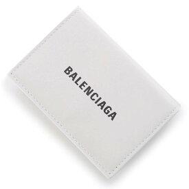 バレンシアガ BALENCIAGA 3つ折り財布 小銭入れ付き ホワイト メンズ 594312 1i313 9060 CASH MINI WALLET【あす楽対応_関東】【返品送料無料】【ラッピング無料】