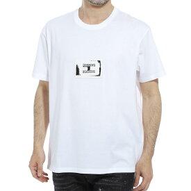 ジバンシー GIVENCHY クルーネックTシャツ ホワイト メンズ bm70uq3002 100 STUDIO HOMME REGULAR FIT T-SHIRT【あす楽対応_関東】【返品送料無料】【ラッピング無料】