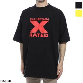 【大感謝祭DEAL】【アウトレット】バレンシアガ BALENCIAGA クルーネックTシャツ メンズ 620969 tiva7 1076 X-RATED LARGE FIT T-SHIRT【あす楽対応_関東】【返品送料無料】【ラッピング無料】