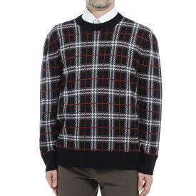【アウトレット】バーバリー BURBERRY クルーネック ニット セーター ブラック メンズ 8021348 black FLETCHER【あす楽対応_関東】【返品送料無料】【ラッピング無料】