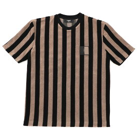フェンディ FENDI クルーネック Tシャツ ブラウン メンズ faf538 abt4 f1ayd【あす楽対応_関東】【返品送料無料】【ラッピング無料】