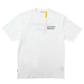 モンクレール MONCLER クルーネック Tシャツ ホワイト メンズ 8c70810 8392b 001 MONCLER GENIUS 7 FRAGMENT HIROSHI FUJIWARA【あす楽対応_関東】【返品送料無料】【ラッピング無料】