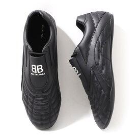 バレンシアガ BALENCIAGA スニーカー ブラック メンズ 大きいサイズあり 617540 w2cg1 1002 ZEN SNEAKER【あす楽対応_関東】【返品送料無料】【ラッピング無料】