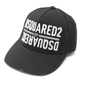 ディースクエアード DSQUARED2 キャップ ブラック メンズ ベースボールキャップ bcm0340 05c00001 2124 Embroidered Cargo Baseball Caps【あす楽対応_関東】【返品送料無料】【ラッピング無料】