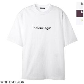 バレンシアガ BALENCIAGA クルーネック Tシャツ メンズ 612966 tiv54 9040 NEW COPYRIGHT MEDIUM FIT T-SHIRT【あす楽対応_関東】【返品送料無料】【ラッピング無料】[2021SS]