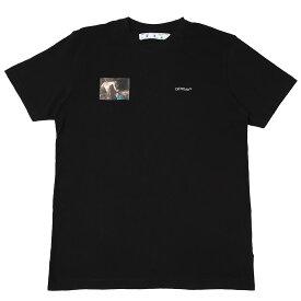オフホワイト Off-White クルーネック Tシャツ ブラック メンズ omaa027e20jer009 1010 CARAVAGGIO ANGEL S/S SLIM【あす楽対応_関東】【返品送料無料】【ラッピング無料】