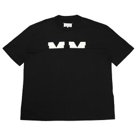 メゾンマルジェラ Maison Margiela クルーネック Tシャツ ブラック メンズ s50gc0628 s22816 900 10 男性のためのコレクション【あす楽対応_関東】【返品送料無料】【ラッピング無料】