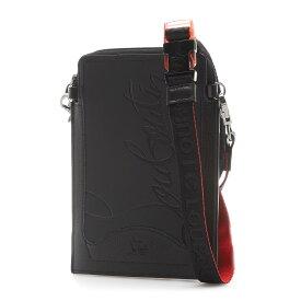 クリスチャンルブタン Christian Louboutin クロスボディバッグ ブラック メンズ 32051 23cm53 black black LOUBILAB ルビラブ【あす楽対応_関東】【返品送料無料】【ラッピング無料】