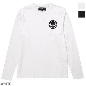 ハイドロゲン HYDROGEN クルーネック 長袖Tシャツ メンズ 274624 001 JAPANESE SKULL T-SHIRT LS【あす楽対応_関東】【返品送料無料】【ラッピング無料】