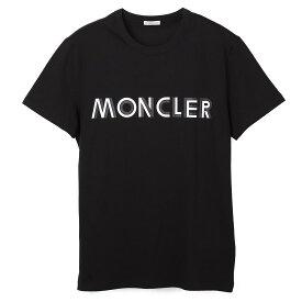モンクレール MONCLER クルーネック Tシャツ ブラック メンズ 8c75910 8390t 999 MAGLIA T-SHIRT【あす楽対応_関東】【返品送料無料】【ラッピング無料】