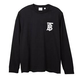 バーバリー BURBERRY クルーネック 長袖Tシャツ ブラック メンズ 8024599 black LONG-SLEEVE MONOGRAM MOTIF COTTON TOP【あす楽対応_関東】【返品送料無料】【ラッピング無料】