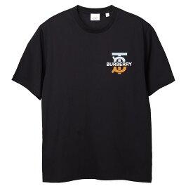 バーバリー BURBERRY クルーネック Tシャツ ブラック メンズ 8032185 black MONOGRAM MOTIF COTTON OVERSIZED T-SHIRT【あす楽対応_関東】【返品送料無料】【ラッピング無料】