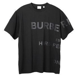 バーバリー BURBERRY クルーネック Tシャツ ブラック メンズ 8032299 black HORSEFERRY PRINT COTTON OVERSIZED T-SHIRT【あす楽対応_関東】【返品送料無料】【ラッピング無料】