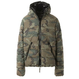 ハイドロゲン HYDROGEN ダウンジャケット グリーン メンズ 275302 060 camouflage DOWN JACKET HYDROGEN BY DUVETICA【あす楽対応_関東】【返品送料無料】【ラッピング無料】