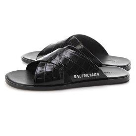 バレンシアガ BALENCIAGA サンダル ブラック メンズ 大きいサイズあり 597148 wa9d5 1006 COSY SANDAL【あす楽対応_関東】【返品送料無料】【ラッピング無料】