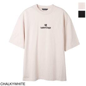 バレンシアガ BALENCIAGA クルーネック Tシャツ メンズ 612966 tjvd9 9054 SPONSOR MEDIUM FIT T-SHIRT【あす楽対応_関東】【返品送料無料】【ラッピング無料】