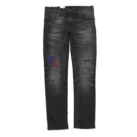 【大感謝祭DEAL】【アウトレット】ヌーディージーンズ nudie jeans co ジップフライ ジーンズ ブラック メンズ thin finn 113454 THIN-FINN レングス32【あす楽対応_関東】【返品送料無料】【ラッピング無料】