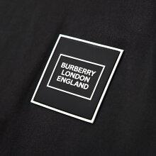 バーバリーBURBERRYクルーネックTシャツブラックメンズ8028943blackLOGOAPPLIQUECOTTONT-SHIRT【あす楽対応_関東】【返品送料無料】【ラッピング無料】