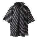 【アウトレット】バレンシアガ BALENCIAGA カジュアルシャツ ブラック メンズ 622223 tils7 1070 WINDBREAKER SHIRT【…