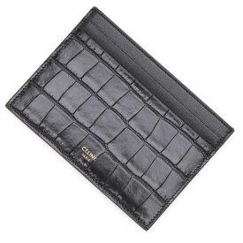 セリーヌ CELINE カードケース ブラック メンズ 10b76 3bg1 38no【あす楽対応_関東】【返品送料無料】【ラッピング無料】