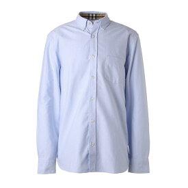 バーバリー BURBERRY ボタンダウンシャツ ブルー メンズ 8008709 cornflowerblue【あす楽対応_関東】【返品送料無料】【ラッピング無料】