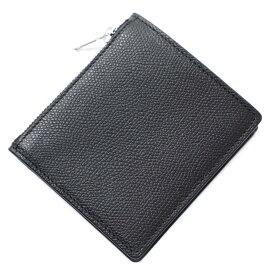 メゾンマルジェラ Maison Margiela 2つ折り財布 小銭入れ付き ブラック メンズ s35ui0448 p0399 t8013【あす楽対応_関東】【返品送料無料】【ラッピング無料】