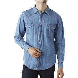 セリーヌ CELINE デニムシャツ ブルー メンズ 2t010 208i 08ow【あす楽対応_関東】【返品送料無料】【ラッピング無料】