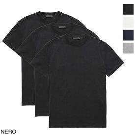 プラダ PRADA クルーネック Tシャツ 3枚セット メンズ ujm492 ilk f0002【あす楽対応_関東】【返品送料無料】【ラッピング無料】