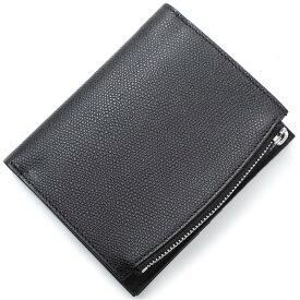 メゾンマルジェラ Maison Margiela 2つ折り財布 小銭入れ付き ブラック メンズ s35ui0437 p0399 t8013【あす楽対応_関東】【返品送料無料】【ラッピング無料】