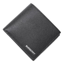 バーバリー BURBERRY 2つ折り財布 ブラック メンズ 8014653 black GRAINY LEATHER INTERNATIONAL BIFOLD WALLET【あす楽対応_関東】【返品送料無料】【ラッピング無料】