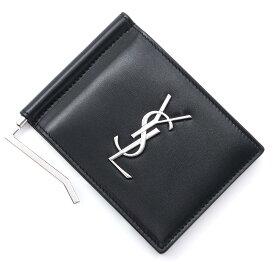 サンローラン SAINT LAURENT マネークリップ ブラック メンズ 485630 0sx0e 1000【あす楽対応_関東】【返品送料無料】【ラッピング無料】[2021SS]
